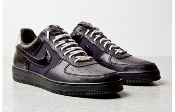 Nike Air Force 1 Downtown Black Leather