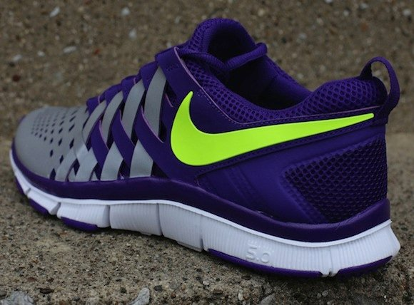 Nike Free Trainer 50 NRG Court Purple Volt w Reflective Silver 3