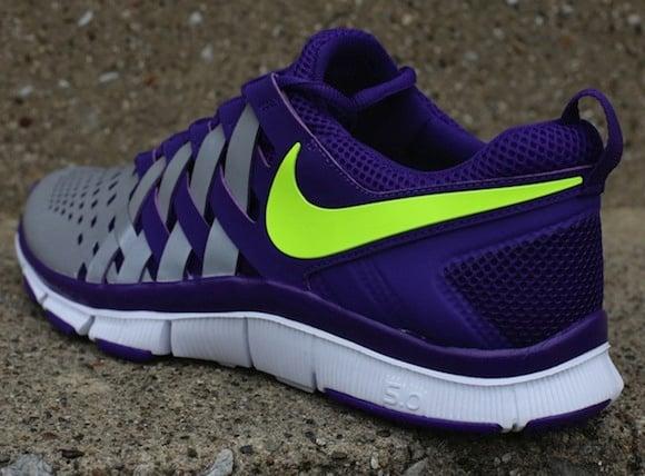 3745e45264d49 Nike Free Trainer 50 NRG Court Purple Volt w Reflective Silver 3