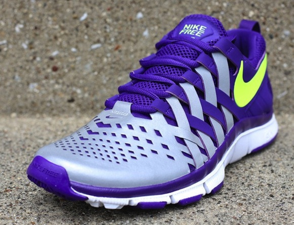Nike Free Trainer 50 NRG Court Purple Volt w Reflective Silver 2