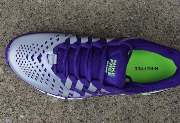brand new e05ce a1fe8 ... switzerland nike free trainer 50 nrg court purple volt w reflective  silver 4 1fd71 c3881
