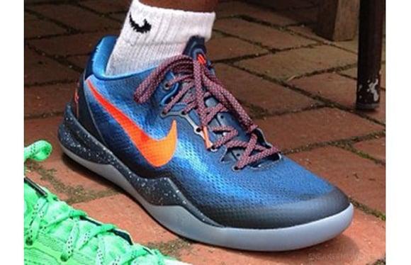 Nike Kobe 8 Blue Orange