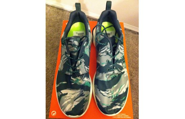 Nike Roshe Run Green Camo 02