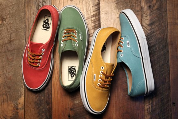Vans Authentic Brushed Twill Pack