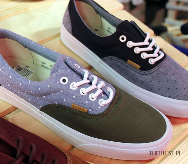 Vans California Era Chambray Polka Pack 3