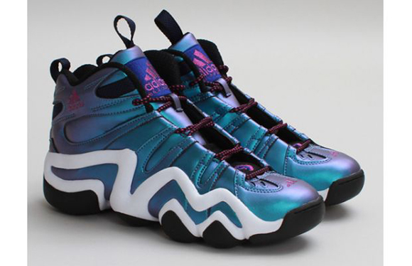 adidas Crazy 8 Black Vivid Pink Run White 03