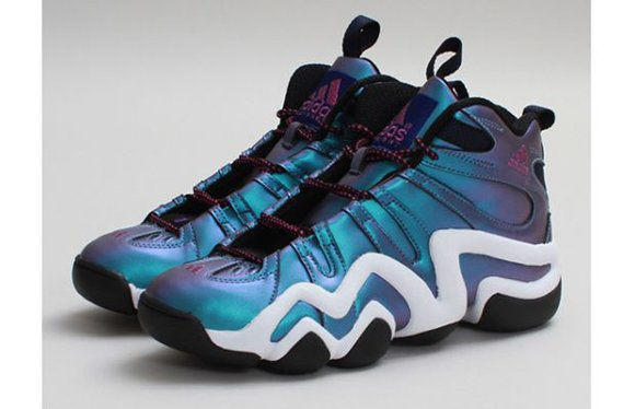 adidas Crazy 8 Black Vivid Pink Run White