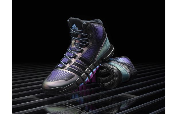 adidas Crazyquick Black Purple Teal