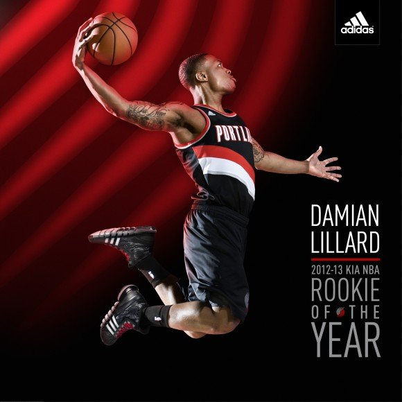adidas x Damian Lillard Unveil Rookie of the Year Shirts