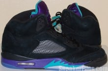 Video: Air Jordan 5 (V) Aqua (Black Grape) 2013