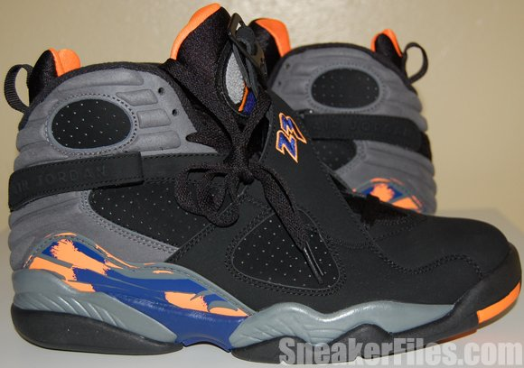 Air Jordan 8 (VIII) Phoenix Suns 2013 Video Review
