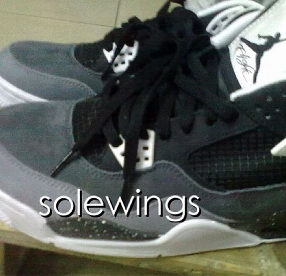 Air Jordan IV Grey Cement