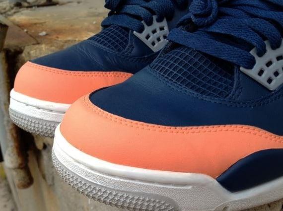 "Air Jordan IV ""Salmon Toe"" by DeJesus Customs  cbbacc173326"