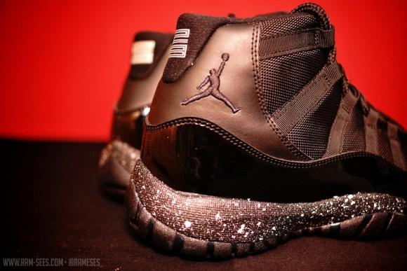 Air Jordan XI Oreo & Cement Customs by Ramses