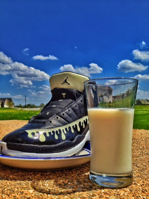 Air Jordan XII Cookies and Cream &  Yeezy Taught Me Air Jordan 1 by SneakerGeekzx