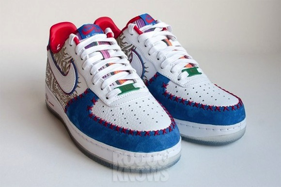 Nike Air Force 1 Puerto Rico 2013 Images