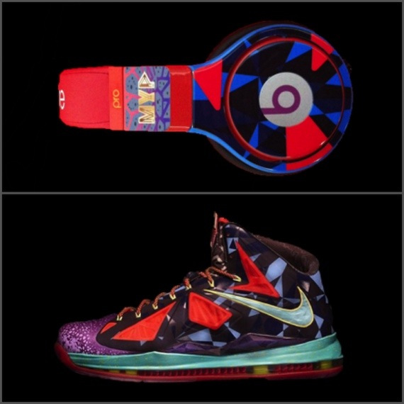 Beats by Dre Nike LeBron X MVP Headphones