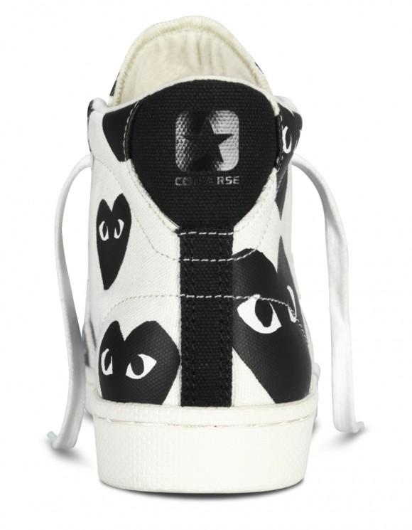 Comme des Garçons PLAY x Converse Pro Leather Collection