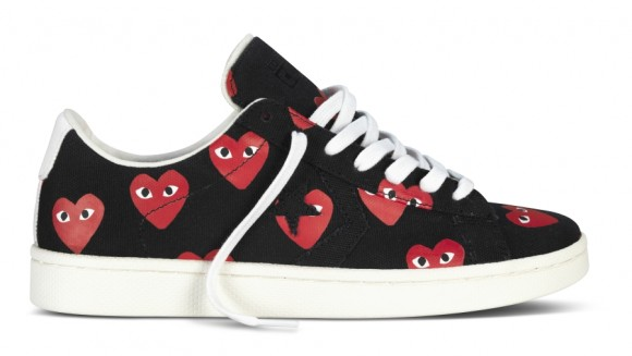 Comme des Garçons PLAY x Converse Pro Leather Collection