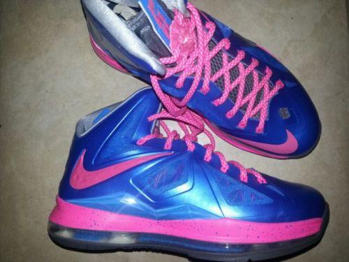 official photos 371b4 b2e1b Cotton Candy Nike iD LeBron X+ (10)