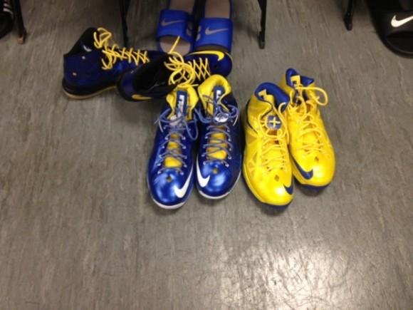 Draymond Greens Nike LeBron X iD Collection
