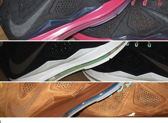 Euro Release Update Nike LeBron X EXT QS