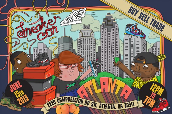 Event Reminder Sneaker Con Atlanta Saturday June 15th 2013