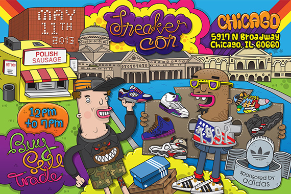 Event Reminder Sneaker Con Chicago