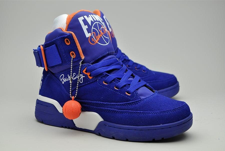 Orange Blue And White Basketball Shoes