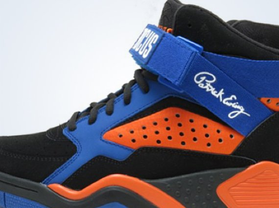 Ewing Focus Retro 2013 Black Orange Blue