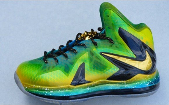 Grand Hustle Nike LeBron X Elite Customs for TI by Kickasso Kustoms