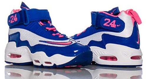 finest selection 561b1 81c30 Nike Air Griffey Max 1 GS Digital Pink Game Royal