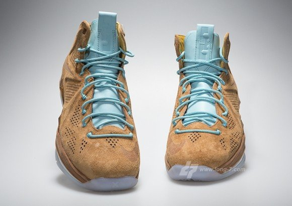 Image Update Brown Suede Nike LeBron X EXT