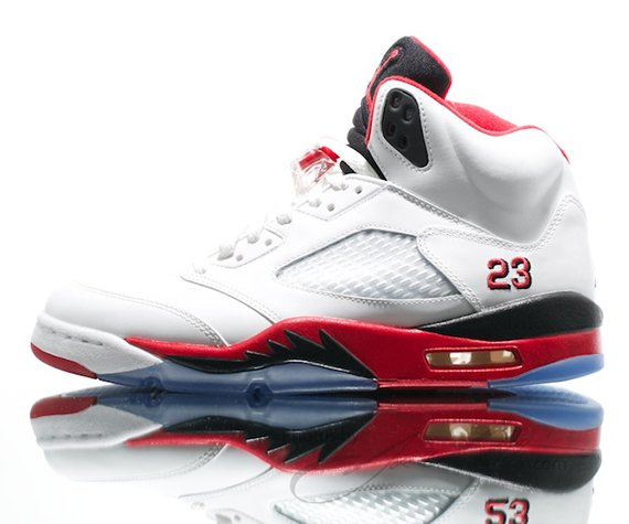 Image Update Fire Red Air Jordan V 2013 Retro