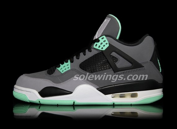 Image Update Green Glow Air Jordan IV