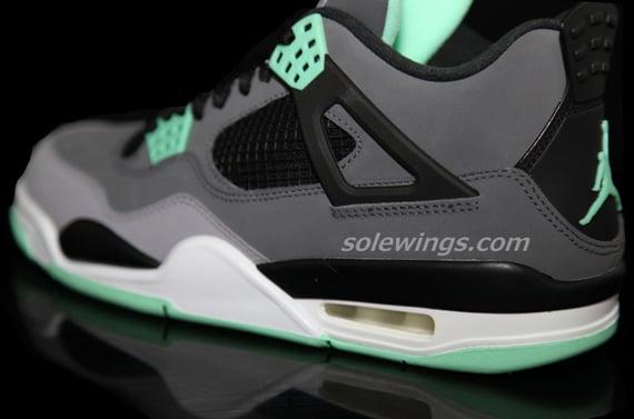 Image Update Green Glow Air Jordan IV