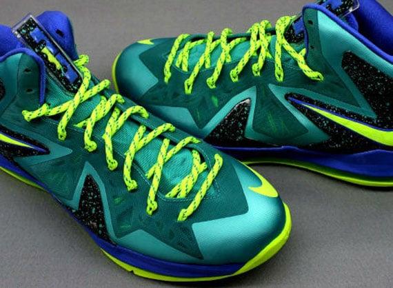 "Image Update: Nike LeBron X Elite ""Sport Turquoise"""