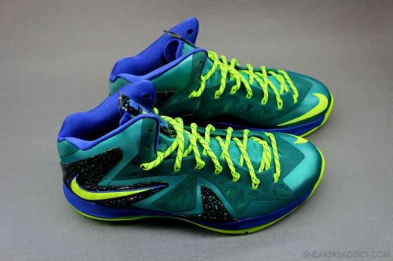 Image Update Nike LeBron X Elite Sport Turquoise