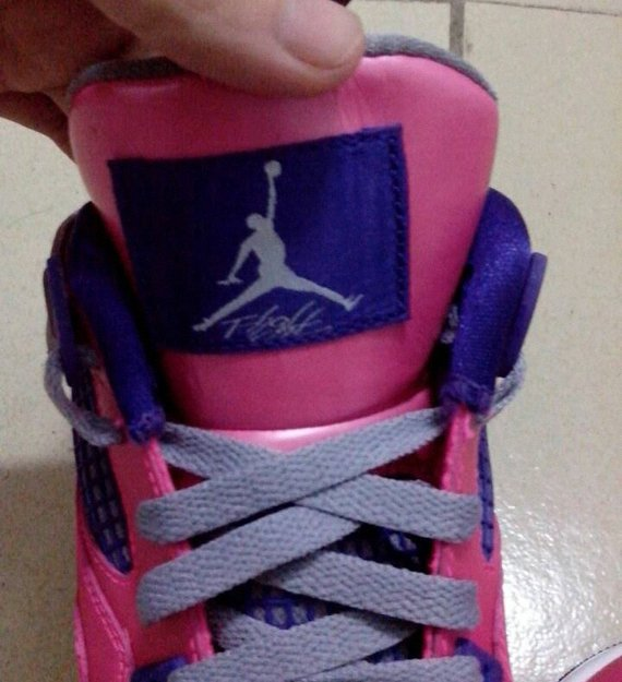 Image Update Pink Purple Air Jordan IV GS