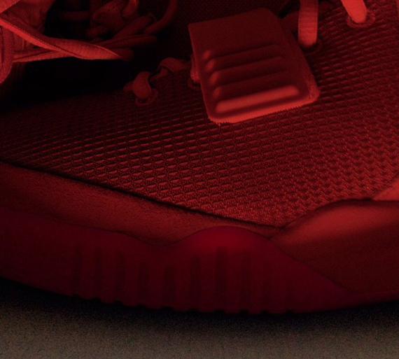 Image Update Red Nike Air Yeezy 2