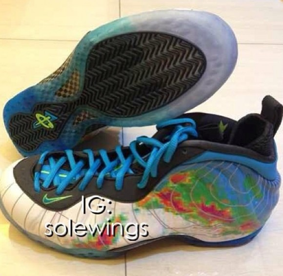 Image Update Weatherman Nike Foamposite One