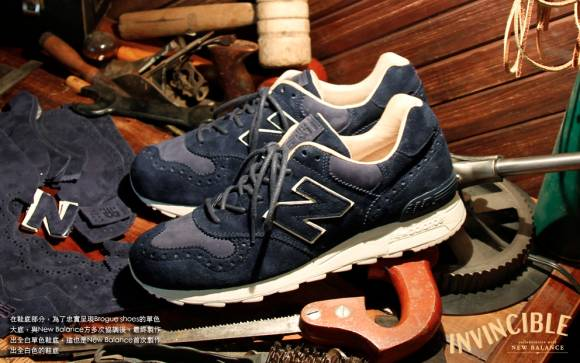 INVINCIBLE x New Balance 1400 Brogue