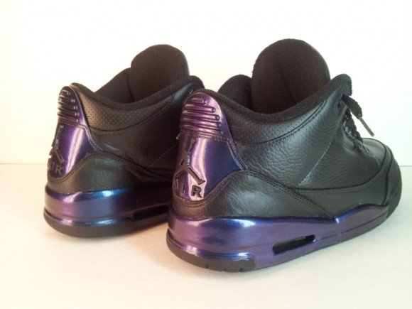 Invisibility Cloak Air Jordan III Customs by Overdose of Opulence Customs