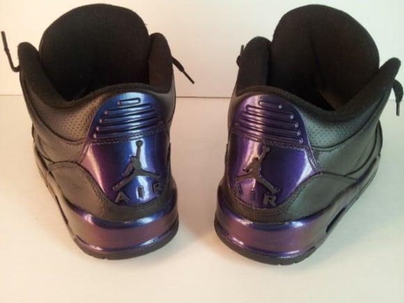 Invisibility Cloak Air Jordan III Customs by Overdose of Opulence Customs