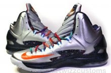 "KD V (5) ""Galaxy"" by Twizz Customs"