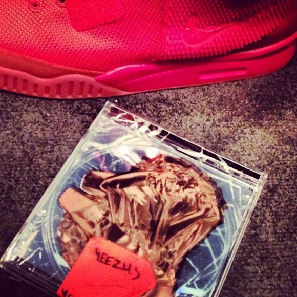 Kim Kardashian Teases Air Yeezy 2 Red On Instagram Yeezy Rocks Them On SNL