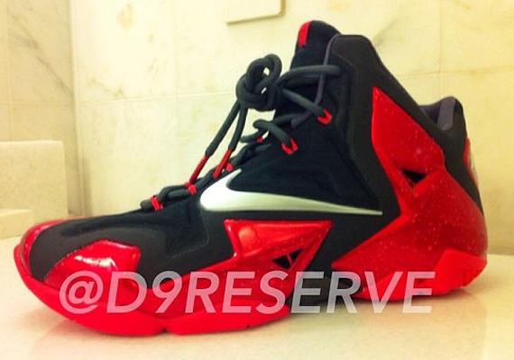 Miami Heat Nike LeBron XI