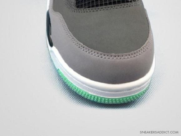 New Images Air Jordan IV 4 Green Glow