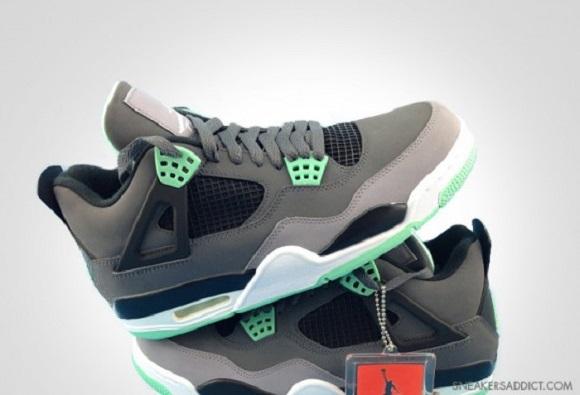 New Images Air Jordan IV 4 Green Glow new - s132716079.onlinehome.us ac0db3f38c5d