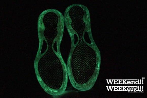 Nike Air Foamposite One Fireflies Customs by RBN